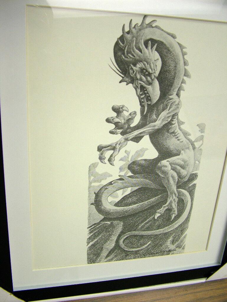 Kevin Siembieda print 4  - Basilisk