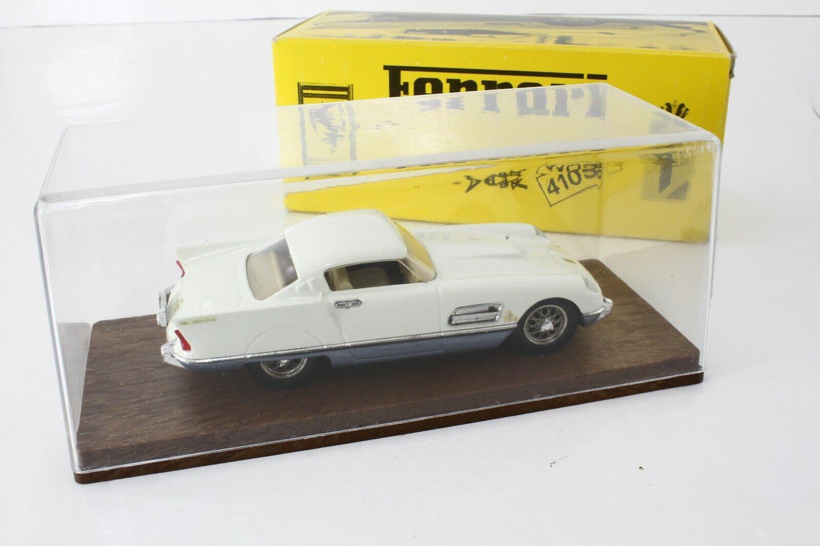 IDEA 3  101 Ferrari 410 S.A. Superfast Super America Coupe 1956 NIB 1 43 Mint