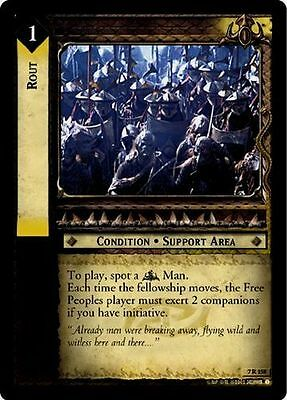 LoTR TCG RoTK Return Of The King Rout 7R158