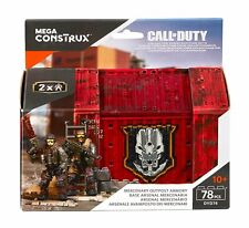 MERCENARY SOLDIER #1 Mega Construx Call Of Duty Mercenary Outpost Armory DYD74