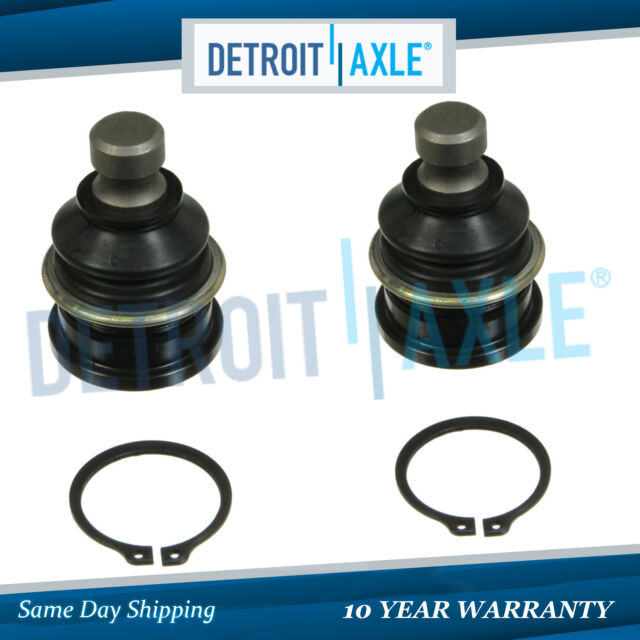 Detroit Axle - Both (2) Driver & Passenger Side Front Lower Ball Joint