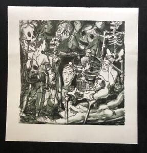 Thomas succinico, Ohne Titel (cellulare-Chat 1), litografia, 2006, firmato a mano