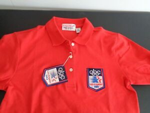 473804c1d8 ABC Promo 1984 Los Angeles Olympics Polo Shirt NEW Size XS Vintage ...