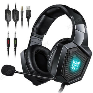 Gaming Headset Auriculares Over-Ear K8 Headphones MIC RGB LED for...