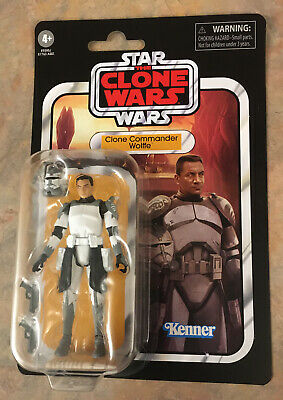 Star Wars The Vintage Collection Clone Commander Wolffe VC168 New On Card