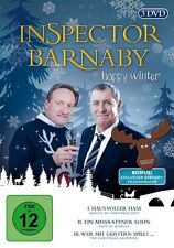 3 DVDs * INSPECTOR BARNABY - Happy Winter # NEU OVP &