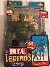 "Marvel Legends 1st Appearance 7"" Green Hulk & Galactus Left Arm 32 Pg Comic Book"