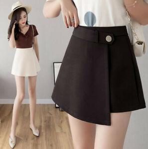Womens Las Casual Office Short Skirt