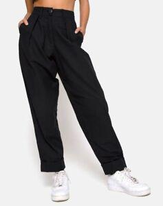 MOTEL-ROCKS-Misca-Trouser-in-Black-XS-MR54