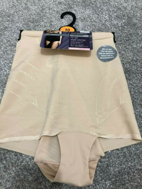 M /& S MAGICWEAR KNICKERS FIRM CONTROL SECRET SLIMMING BLACK MARKS SPENCER