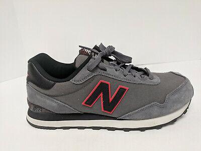 new balance 515 v1 casual sneakers castlerock/black mens