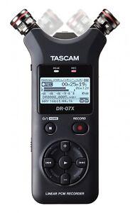 DR-07X-Tascam-Audio-Recorder