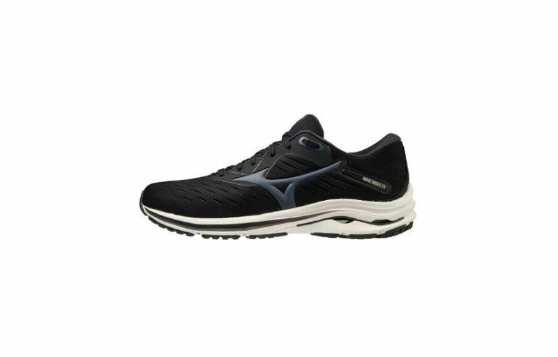 Mizuno Wave Rider 24 Men's Running Shoes Black/India Ink/ White J1GC200347 21A