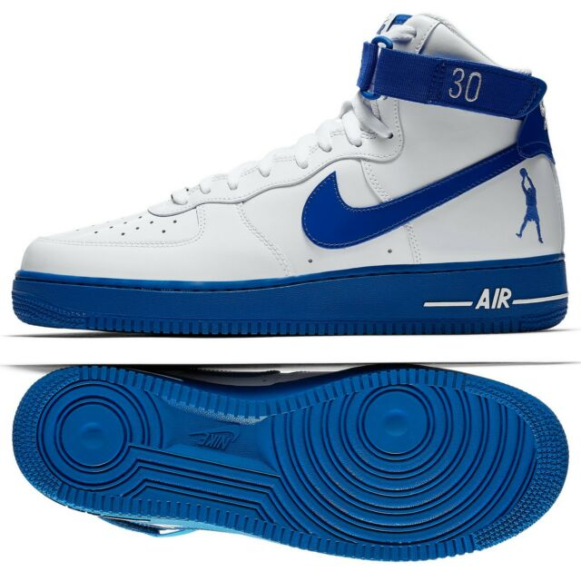 quality design 34a5d dc04a Nike Air Force 1 High Retro CT16 QS AQ4229-100 Sheed Rude Awakening Blue  Shoes
