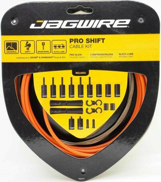 Jagwire Pro Shift Kit Road//Mountain SRAM//Shimano Ice Gray Pro Shift Kit