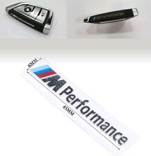 M Performance Emblem Schlüssel Aufkleber Aluminium Key Sticker M Logo Decal