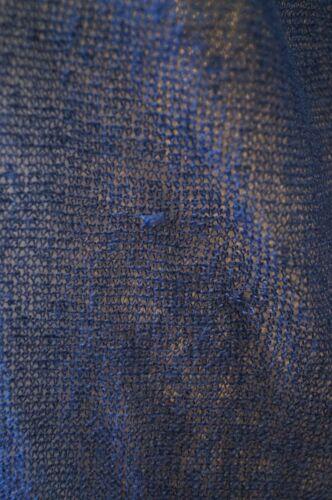 Armani Jumper Sweater 46 Scoop Blue Top Sleeve Long Emporio Neck Sheer Knitwear fZdWwq