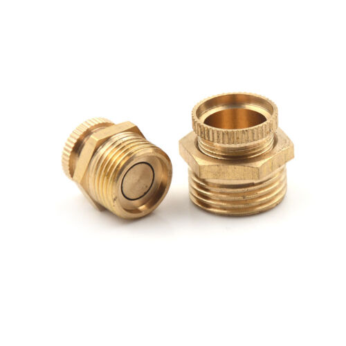Air Compressors Male Threaded Water Drain Valve Brass Tone PT 1//2/'/' 3//8/'/' SP