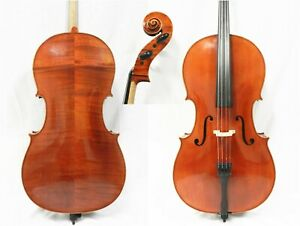 Repaired Advanced Cello 1 2 Size Helicore Strings France Bridge Free Shipping Ebay