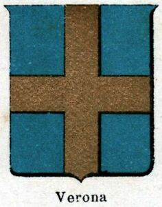Verona-Small-Crest-1901-Chromolithography-Print-Ancient-mat