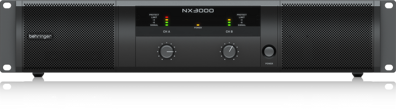 BEHRINGER NX3000 AMPLIFICATORE DI POTENZA IN CLASSE D ULTRALEGGERO 3000 WATT