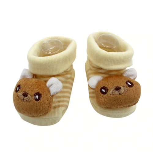 Baby Noppensocken Tiere 0-6 Monate Erstlings Söckchen 3D Socken Strümpfe