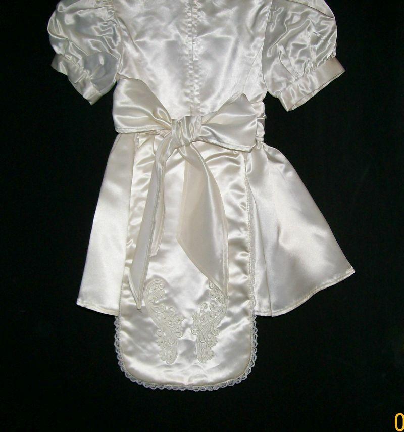 Mini Bride Dress, Child Wedding Dress, Handmade, … - image 6
