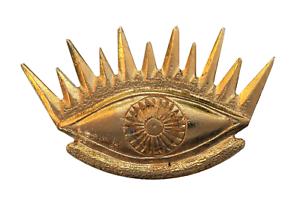 All-Seeing Eye Gilded Symbol For Orange Order Collarette