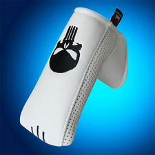 White Putter Cover Headcover for Scotty Cameron TaylorMade Odyssey Blade