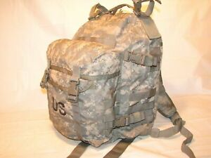 US ARMY ACU ASSAULT PACK 3 DAY MOLLE II BACKPACK Made in USA good condition