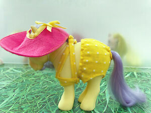 My-Little-Pony-G1-Sun-amp-Fun-Outfit-Vintage-1980s-Collectibles-MLP-Outfit-only