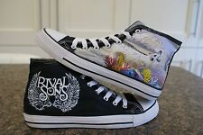 RIVAL SONS INSPIRED CUSTOM HAND PAINTED HIGH TOPS MADE TO ORDER