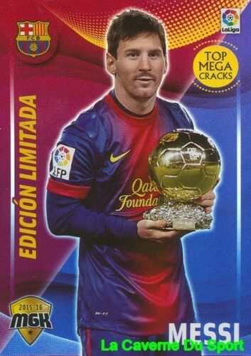 072B MESSI ARGENTINA FC.BARCELONA CARD EDITION LIMITED MGK LIGA 2016 PANINI