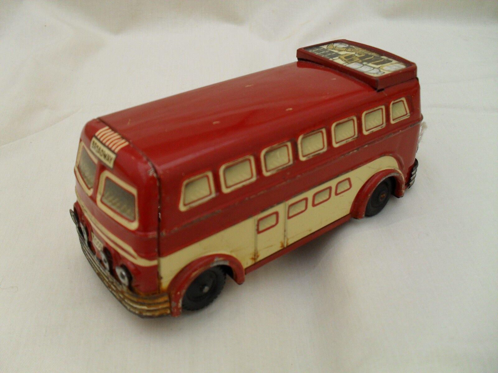 Banda stagnata Bus JOUSTRA FRANCE circa 1960s