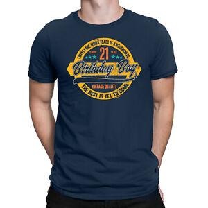 166684791 Mens 21st Birthday T-Shirt 21 YR OLD BIRTHDAY BOY Years of ...