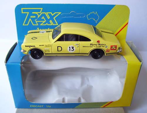 Rare TRAX HOLDEN MONARO HK GTS 1968 BATHURST 1 43 BOX