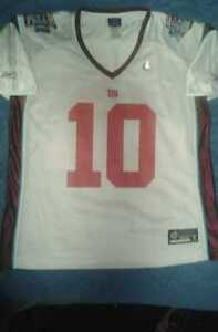6b49e2df5 New York Giants  10 Eli Manning Super Bowl XLII Youth XL Jersey