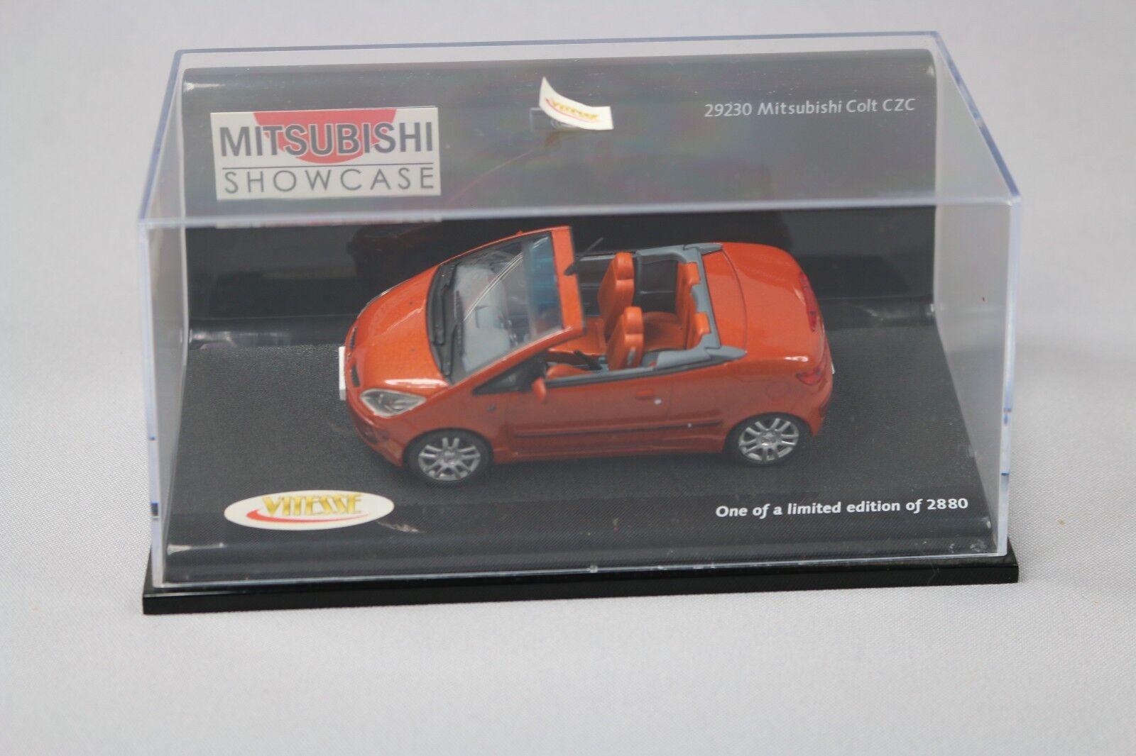 ZC1017 Vitesse 29230 Voiture miniature 1 43 Mitsubishi Colt CZC Limited Edition