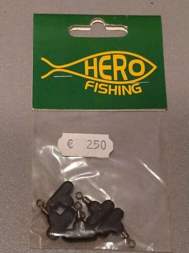 Durchlauf mit Wirbel 5 Stück Hero Fishing T