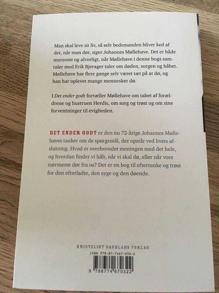DET ENDER GODT, Johannes Møllehave - Erik Bjergager,