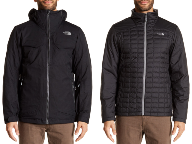 9be36d9057aa The North Face Men s Initiator ThermoBall TriClimate 3 in 1 Jacket Black  Size XL