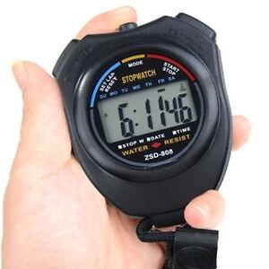 Digitale-LCD-Stoppuhr-Multifunktion-Taschenuhr-Uhr-Stopp-Zeitmesser-Uhr-S-Y-O4F5
