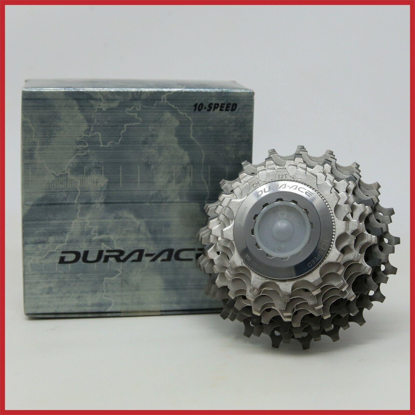 NOS SHIMANO DURA-ACE TITANIUM HG CASSETTE CS-7800 12-21 T 10s SPEED VINTAGE ROAD