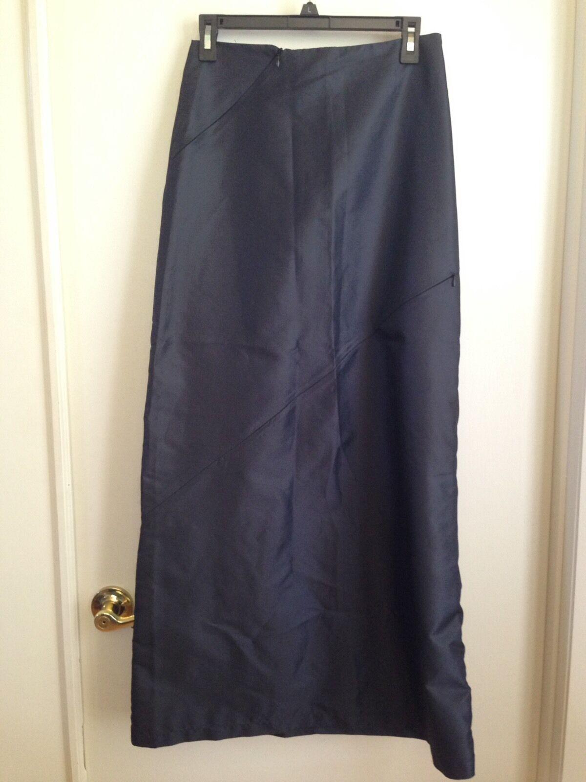 Free Globe  Rare Slate Parachute Straight Sporty Skirt Multiple Zippers M