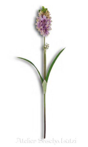 Clayre /& FED Hyacinthe Art Floraison Fleur Violet Décoration 62 cm NEUF
