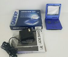 Nintendo Game Boy Advance SP Cobalt Blue AGS-001 in Box