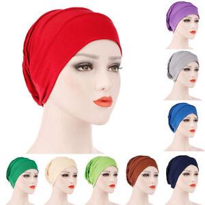 Eg-Femme-Plisse-Bonnet-Turban-Chimio-Cancer-Tete-Echarpe-Foulard-Musulmane