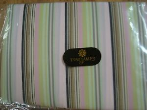 3-yds-TOM-JAMES-CLOTHING-FABRIC-Quilt-Cotton-5-6-oz-STRIPE-PINK-60-034-x-108-034-BTP