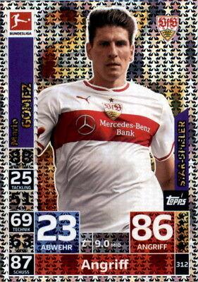 476 Mario Gomez Topps Match Attax 18//19 Bundesliga 2018 2019 Karte Nr