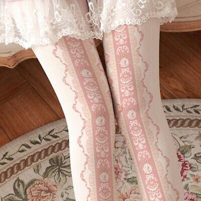 Japanese Sweet Lolita Bowknot Stockings Panty-hose Princess Cosplay Tights